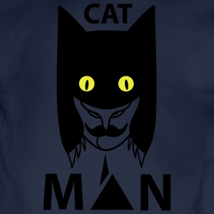 Catman (b) Hoodies - Organic Short-sleeved Baby Bodysuit