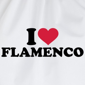 I love Flamenco T-Shirts - Turnbeutel