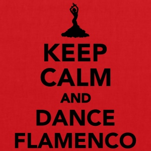 Keep calm and dance Flamenco T-Shirts - Stoffbeutel