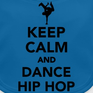 Keep calm and dance hip hop T-Shirts - Baby Bio-Lätzchen