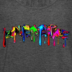 Color, rainbow, graffiti, splash, paint, comic Tee shirts - Débardeur Femme marque Bella
