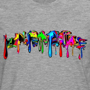 Color, rainbow, graffiti, splash, paint, comic T-Shirts - Men's Premium Longsleeve Shirt