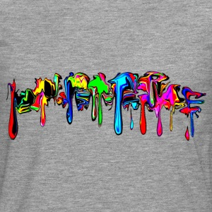 Color, rainbow, graffiti, splash, paint, comic Hoodies & Sweatshirts - Men's Premium Longsleeve Shirt