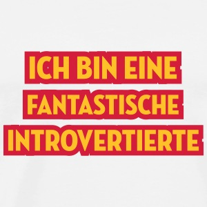 Introvertierter Introvertierte introvertiert Wesen Baby Bodys - Männer Premium T-Shirt