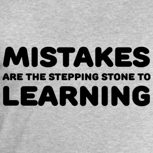 Mistakes are the stepping stone to learning T-Shirts - Männer Sweatshirt von Stanley & Stella