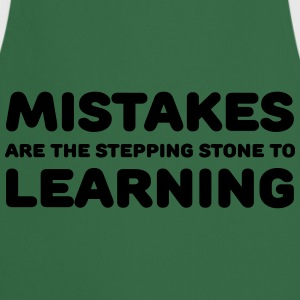 Mistakes are the stepping stone to learning T-Shirts - Kochschürze