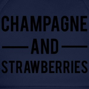 Champagne And Strawberries Borse & zaini - Cappello con visiera