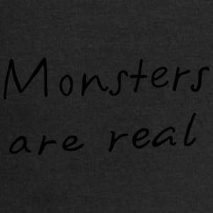 Monsters are real - Männer Sweatshirt von Stanley & Stella
