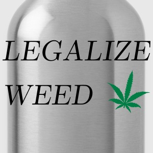 Legalize Weed T-Shirts - Water Bottle