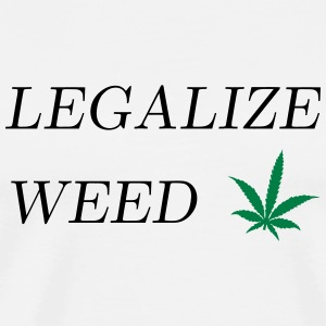 Legalize Weed Mugs & Drinkware - Men's Premium T-Shirt