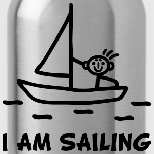 I am sailing T-Shirts - Trinkflasche