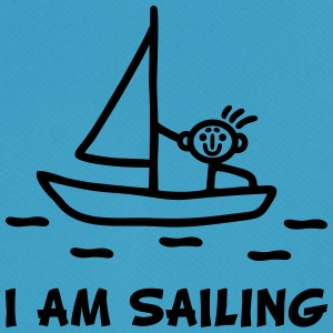 I am sailing Bags & Backpacks - Men's Breathable T-Shirt