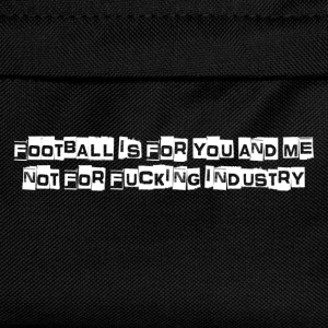 Football is for you & me T-Shirts - Kids' Backpack