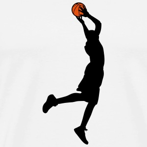Basketball Mugs & Drinkware - Men's Premium T-Shirt