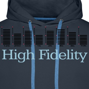 graphic equalizer T-Shirts - Men's Premium Hoodie