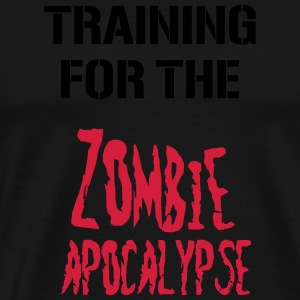 Training for the zombie apocalypse - Männer Premium T-Shirt