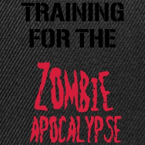 Training for the zombie apocalypse - Snapback Cap