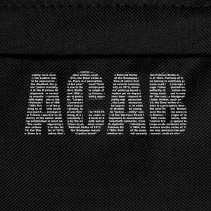 ACAB Lettering T-Shirts - Kids' Backpack