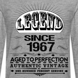 LEGEND SINCE 1967 T-Shirts - Men's Premium Longsleeve Shirt