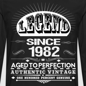 LEGEND SINCE 1982 T-Shirts - Men's Premium Longsleeve Shirt