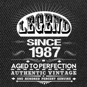 LEGEND SINCE 1987 T-Shirts - Snapback Cap