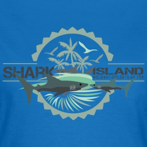sharisland-sharkshirt Sweatshirts - Dame-T-shirt