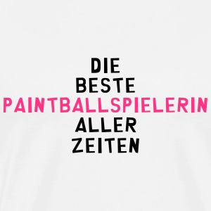 Paintball Paintballspieler Gaming Gamer Game Schürzen - Männer Premium T-Shirt