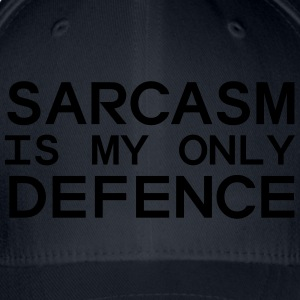 Sarcasm Is My Only Defense Tee shirts - Casquette Flexfit