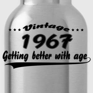 Vintage 1967 Getting Better With Age T-Shirts - Water Bottle