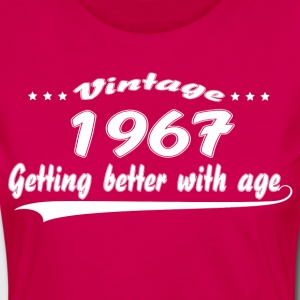 Vintage 1967 Getting Better With Age T-Shirts - Women's Premium Longsleeve Shirt