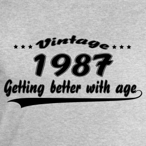 Vintage 1987 Getting Better With Age T-Shirts - Men's Sweatshirt by Stanley & Stella