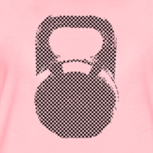 Kettlebell checkerboard Hoodies & Sweatshirts - Women's Premium T-Shirt