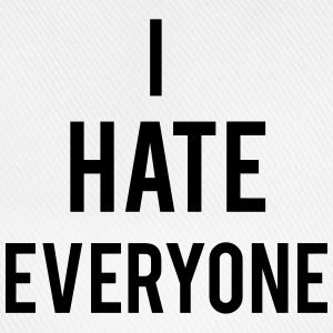Hate Everyone Top - Cappello con visiera