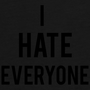 Hate Everyone Caps & Hats - Men's Premium T-Shirt