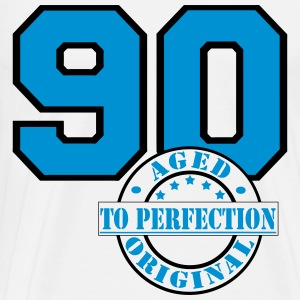 90 Aged to Perfection Far Pullover & Hoodies - Männer Premium T-Shirt
