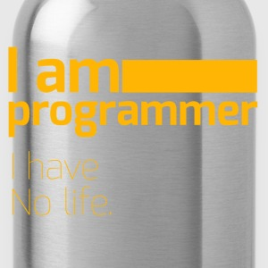 No life - Water Bottle