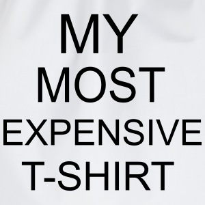 Most Expensive T-Shirt Camisetas - Mochila saco