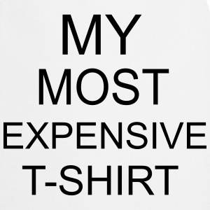 Most Expensive T-Shirt T-shirts - Forklæde