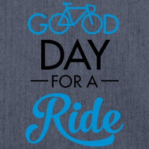Good Day For A Ride T-Shirts - Schultertasche aus Recycling-Material