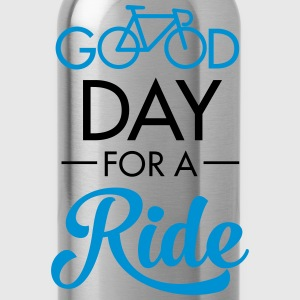 Good Day For A Ride T-shirts - Vattenflaska