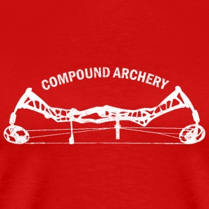 Compound Bogensport Langarmshirts - Männer Premium T-Shirt