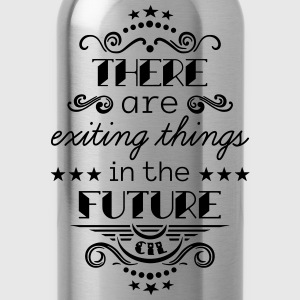 Exiting Things Langarmshirts - Trinkflasche