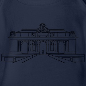 Grand Central Station NewYork Shirts - Organic Short-sleeved Baby Bodysuit