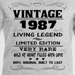 VINTAGE 1987 T-Shirts - Men's Sweatshirt by Stanley & Stella