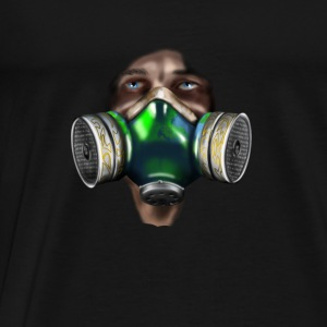 mask Topper - Premium T-skjorte for menn