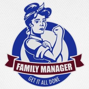 family manager T-Shirts - Baseballkappe