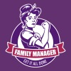 family manager T-Shirts - Frauen Premium T-Shirt