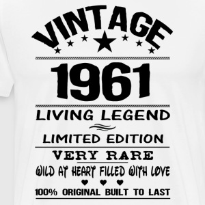 VINTAGE 1961 Long sleeve shirts - Men's Premium T-Shirt