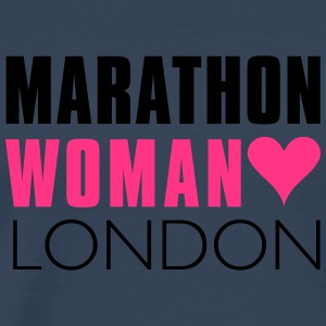 Marathon Woman London  - Männer Premium T-Shirt