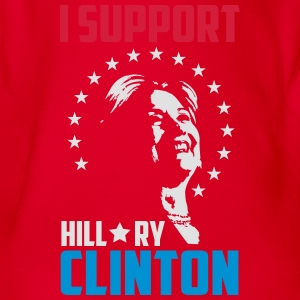 I support hillary clinton Tee shirts - Body bébé bio manches courtes